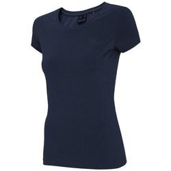 Abbigliamento Donna T-shirt maniche corte 4F TSD001 Blu marino