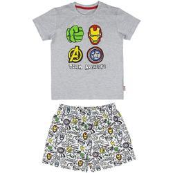 Abbigliamento Bambino Pigiami / camicie da notte Avengers Pigiama Multicolore