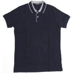 Abbigliamento Uomo Polo maniche corte Ferrante ATRMPN-19348 Blu