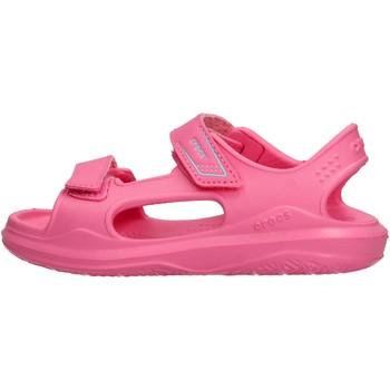 Scarpe Bambino Scarpe acquatiche Crocs - Swiftwater fuxia 206267-6M3 FUXIA