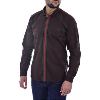 Abbigliamento Uomo Camicie maniche lunghe Goldenim Paris maniche lunghe 1032 - Uomo marrone