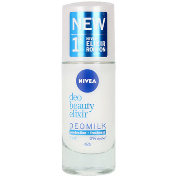 Bellezza Donna Deodoranti Nivea Milk Beauty Elixir Deo Roll-on  40 ml