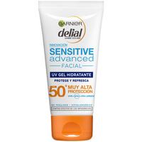 Bellezza Protezione solari Garnier Sensitive Advanced Gel Facial Spf50+  50 ml