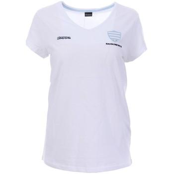 Abbigliamento Donna T-shirt maniche corte Kappa 3018BZ0 Bianco
