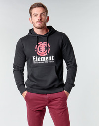 Abbigliamento Uomo Felpe Element VERTICAL HOOD Nero