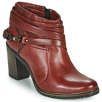 Scarpe Donna Tronchetti Dream in Green NEGUS Bordeaux