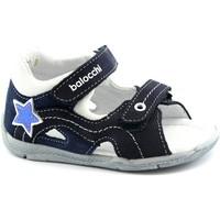 Scarpe Unisex bambino Sandali Balocchi BAL-E20-102156-BL-a Blu