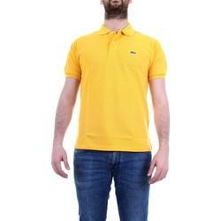 Abbigliamento Uomo Polo maniche corte Lacoste L1264 Polo Uomo Giallo intenso Giallo intenso