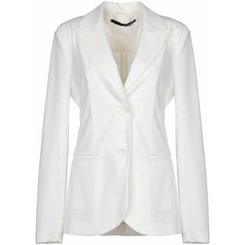 Abbigliamento Donna Giacche / Blazer Annarita N Giacca bianca Bianco