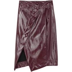 Abbigliamento Donna Gonne Annarita N Gonna effetto vernice Bordeau