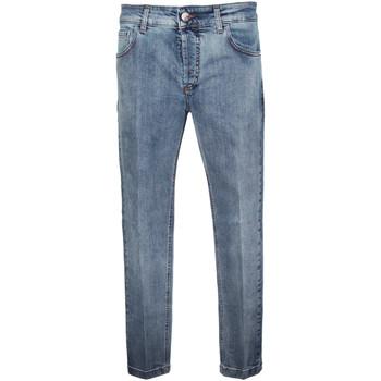 Abbigliamento Uomo Jeans slim Entre Amis Pantalone jeans medio- Blu