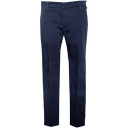 Abbigliamento Uomo Pantaloni Entre Amis Pantalone modello capri- Blu