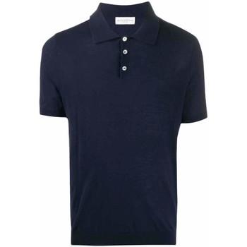 Abbigliamento Uomo Polo maniche corte Ballantyne Polo in filo Blu