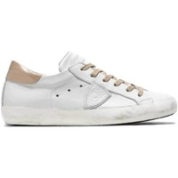 Scarpe Donna Sneakers basse Philippe Model Scarpe paris in pelle Bianco