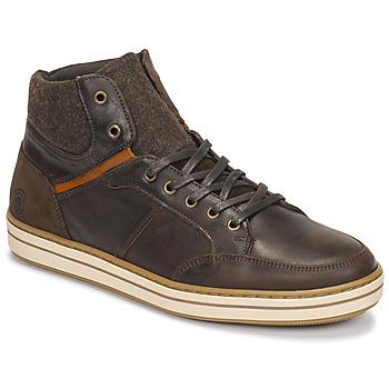 Scarpe Uomo Sneakers alte Casual Attitude NOURDON Marrone