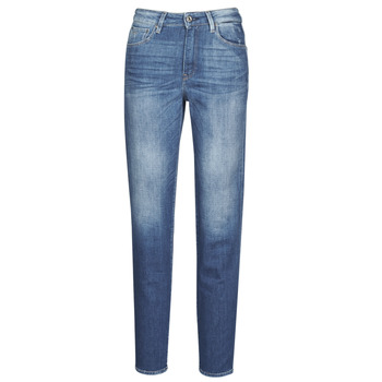 Abbigliamento Donna Jeans dritti G-Star Raw 3301 HIGH STRAIGHT 90'S ANKLE WMN Cobalt
