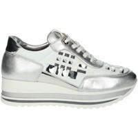 Scarpe Donna Sneakers basse Comart 1A3385 BIANCO/ARGENTO