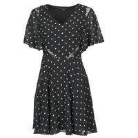 Abbigliamento Donna Abiti corti Guess ELLA DRESS Nero / Bianco