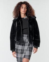Abbigliamento Donna Giubbotti Guess MIRIAM Nero