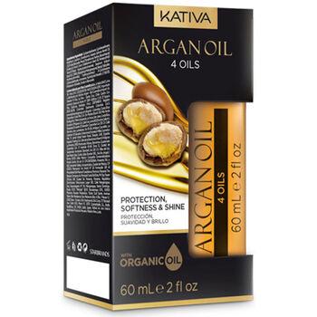 Bellezza Donna Maschere &Balsamo Kativa Argan Oil 4´oils Intensive Hair Oil  60 ml