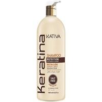 Bellezza Donna Maschere &Balsamo Kativa Keratina Shampoo  1000 ml