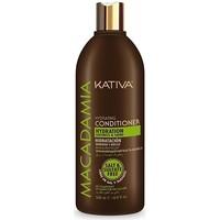 Bellezza Donna Maschere &Balsamo Kativa Macadamia Hydrating Conditioner  500 ml