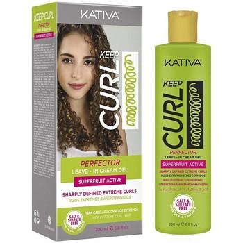 Bellezza Donna Maschere &Balsamo Kativa Keep Curl Perfector Leave-in Cream  200 ml