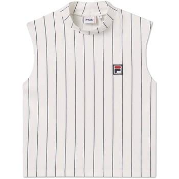 Abbigliamento Donna Top / T-shirt senza maniche Fila Canotta  687648 Westry Sleeveless Donna Bianco Bianco