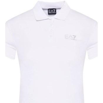 Abbigliamento Uomo Polo maniche corte Emporio Armani EA7 Polo  3HTF57 TJ29Z Donna Bianco Bianco