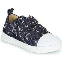 Scarpe Bambina Sneakers basse Citrouille et Compagnie NADIR Marine / Argento
