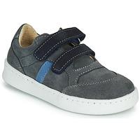 Scarpe Bambino Sneakers basse Citrouille et Compagnie NESTOK Grigio / Marine