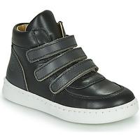 Scarpe Bambino Sneakers alte Citrouille et Compagnie NOSTI Nero / Grigio