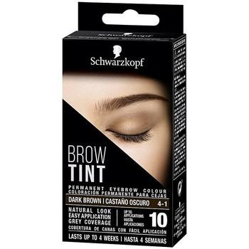 Bellezza Donna Trucco sopracciglia Schwarzkopf Brow Tint Tinte Cejas 4-1-castaño Oscuro 1 u