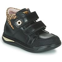 Scarpe Bambina Sneakers alte Pablosky 490611 Nero / Leopard