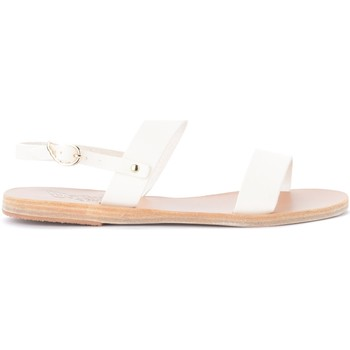 Scarpe Donna Sandali Ancient Greek Sandals Sandalo Clio in pelle bianca Bianco