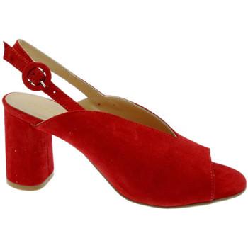 Scarpe Donna Sandali Soffice Sogno SOSO20150ro rosso