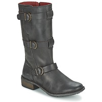 Scarpe Donna Stivali Kickers GROWUP Nero