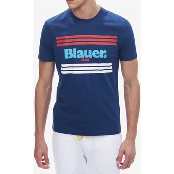 Abbigliamento Uomo T-shirt maniche corte Blauer 20sbluh02178-004547 Manica Corta Uomo Blu Blu