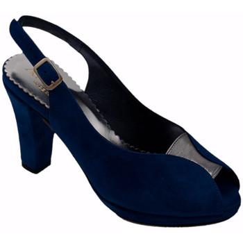Scarpe Donna Sandali Angela Calzature ANSANGC480blu blu