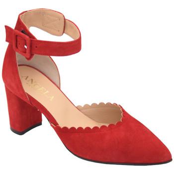 Scarpe Donna Décolleté Angela Calzature AANGC315rosso rosso