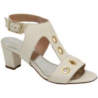 Scarpe Donna Sandali Angela Calzature AANGC741avorio beige