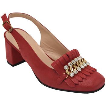 Scarpe Donna Sandali Angela Calzature AANGC1116rosso rosso