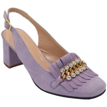 Scarpe Donna Sandali Angela Calzature AANGC1116lilla lilla