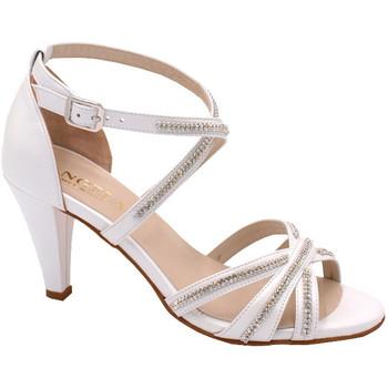 Scarpe Donna Sandali Angela Calzature ASPANGC169T70 bianco