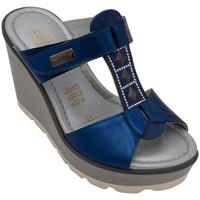 Scarpe Donna Ciabatte Angela Calzature AICE1796bluette bluette