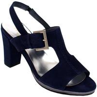 Scarpe Donna Sandali Angela Calzature ANSANGC133blu blu
