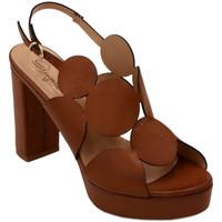 Scarpe Donna Sandali Angela Calzature AANGC492PL010cuoio marrone
