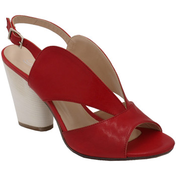 Scarpe Donna Sandali Angela Calzature AANGC4822rosso rosso