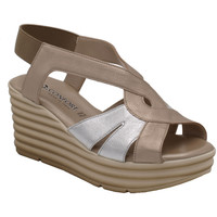 Scarpe Donna Sandali Confort ACONFORT7032 beige