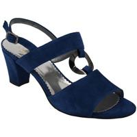 Scarpe Donna Sandali Angela Calzature ANSANGC460blu bluette